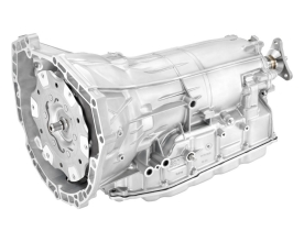 The Hydra-Matic 8L45 eight-speed automatic transmission used in the Cadillac CT6 shares the architecture and design features of the Hydra-Matic 8L90 transmission, but it is scaled and calibrated for the performance envelope of the new 3.6L V-6. It also incorporates components to support the engine's stop/start technology.