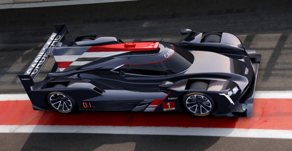Cadillac Reveals Dpi V R Prototype Race Car For 2017