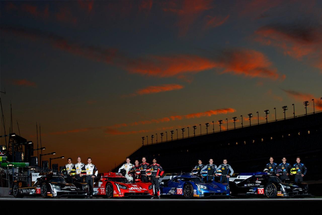 Cadillac Evening News >> Cadillac Dpi V R Teams Ready For Rolex 24 Hours At Daytona