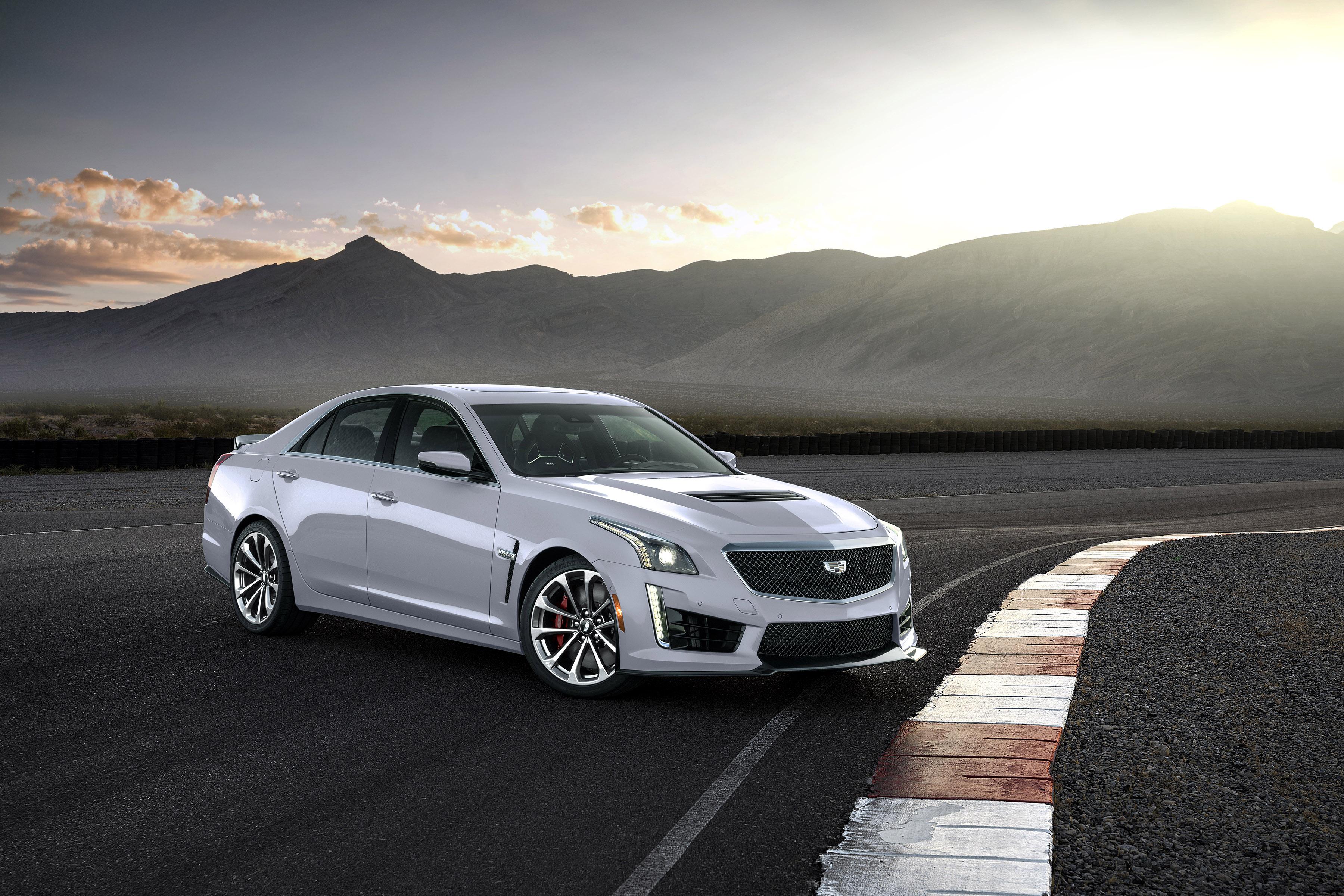 Introducing The 2018 Cadillac Cts V Glacier Metallic Edition