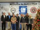 Local and state Indiana officials join Bedford Casting Operations joint leadership and regional UAW and IBEW representatives for GM planned investment of $127.4 million, creating about 127 jobs in the future.