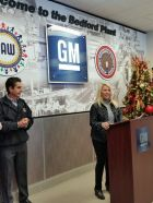 General Motors will invest $127.4 million in powertrain and structural components to support production of new aluminum engine blocks and components at its Bedford Casting Operations, creating approximately 127 future jobs.