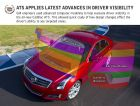 Cadillac ATS Applies Latest Advances In Driver Visibility