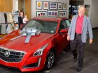 Cadillac Delivers First 2014 CTS Vsport