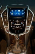 Caddillac CUE Technology at Los Angeles International Auto Show