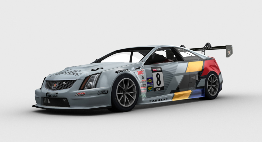 Cts V Coupe Race Car Joins Online Simulation Gaming