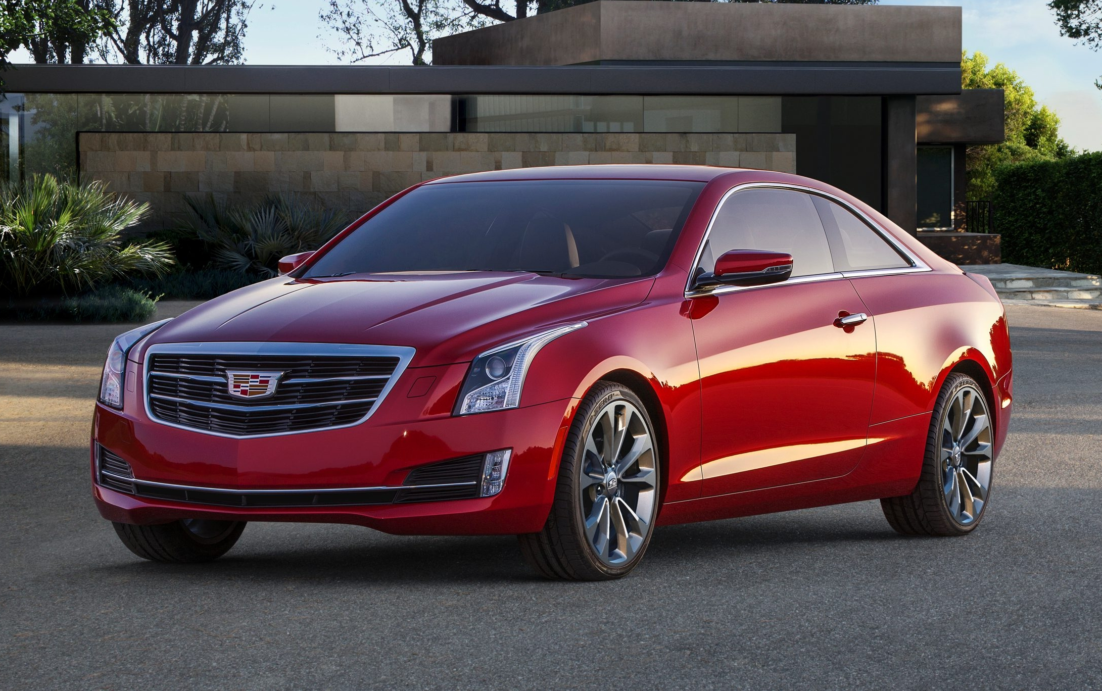 Cadillac Introduces 2015 ATS Coupe