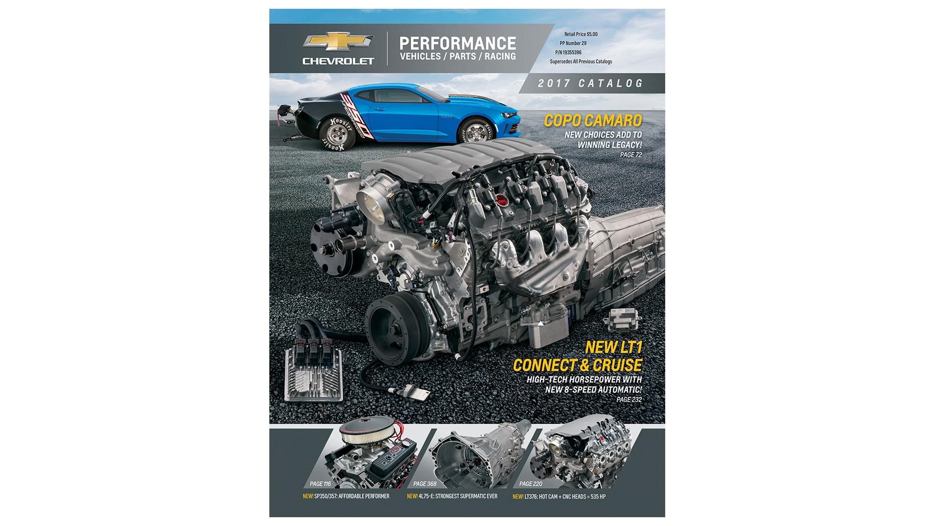 Chevrolet Introduces 2017 Performance Parts Catalog