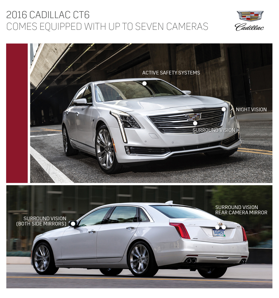 Cadillac Ct6 Features Industry First Surround View Video Recording