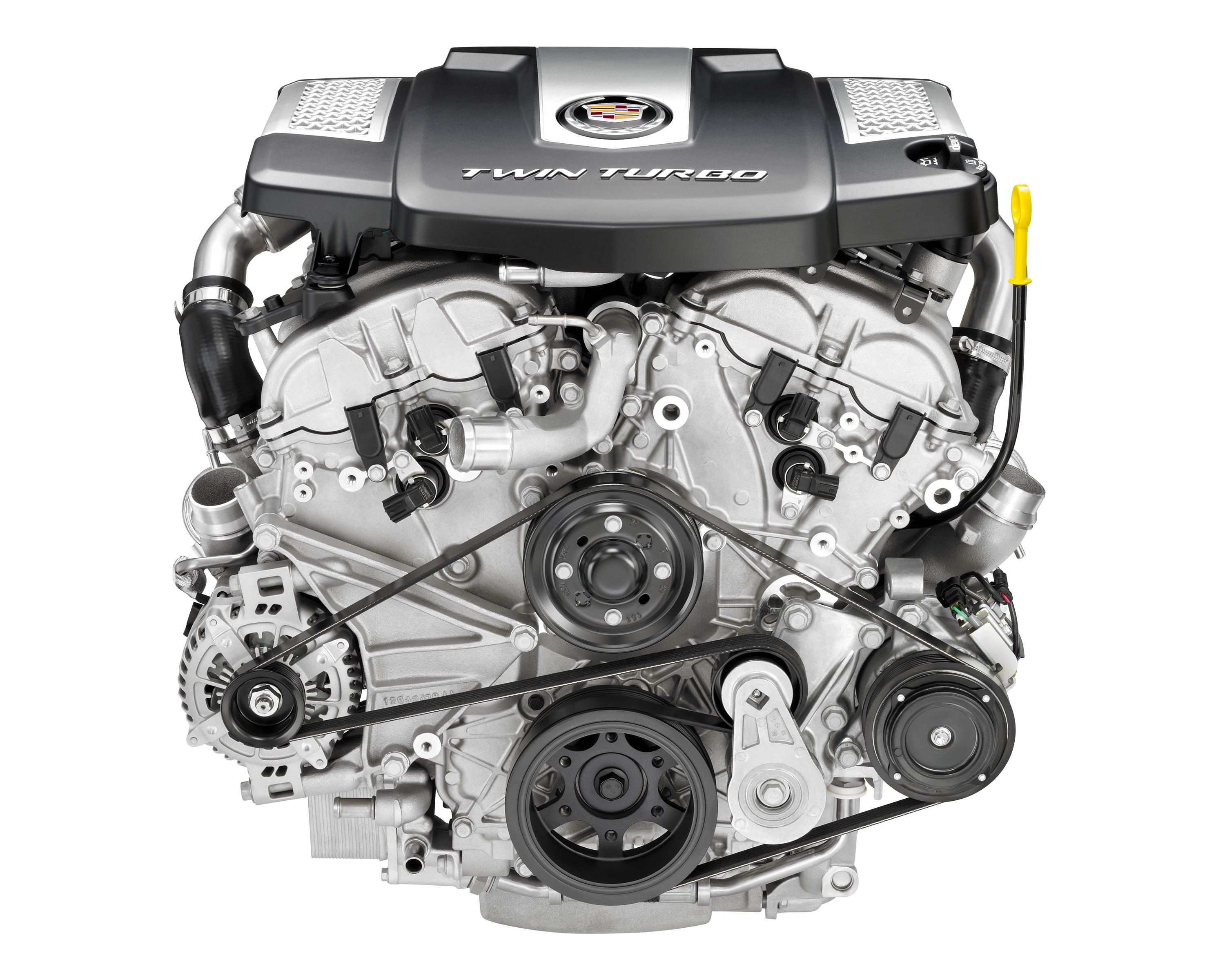 to hp cadillac h ats four cylinder engines news report turbocharged get