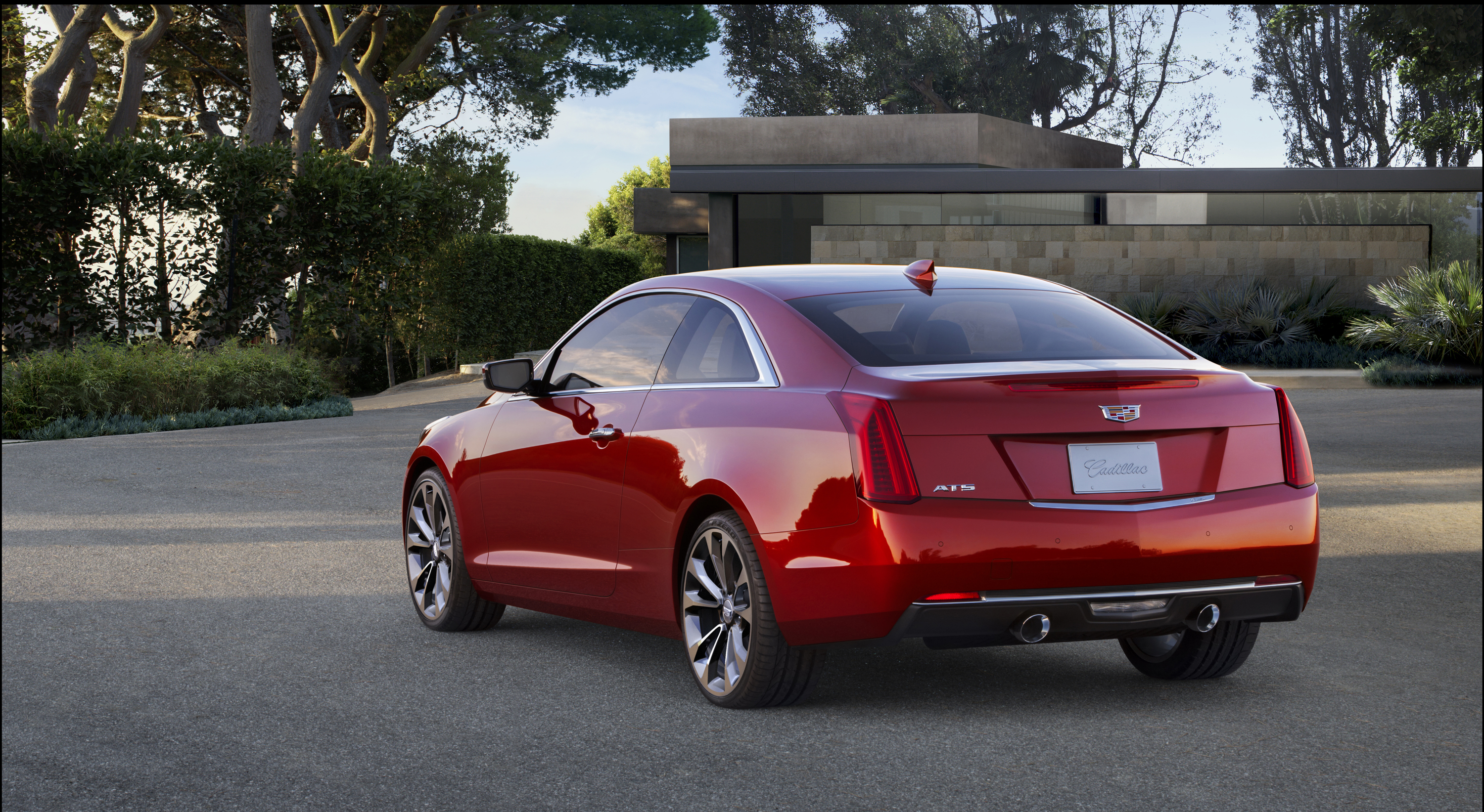 2015 Cadillac ATS Coupe adds OnStar with 4G LTE