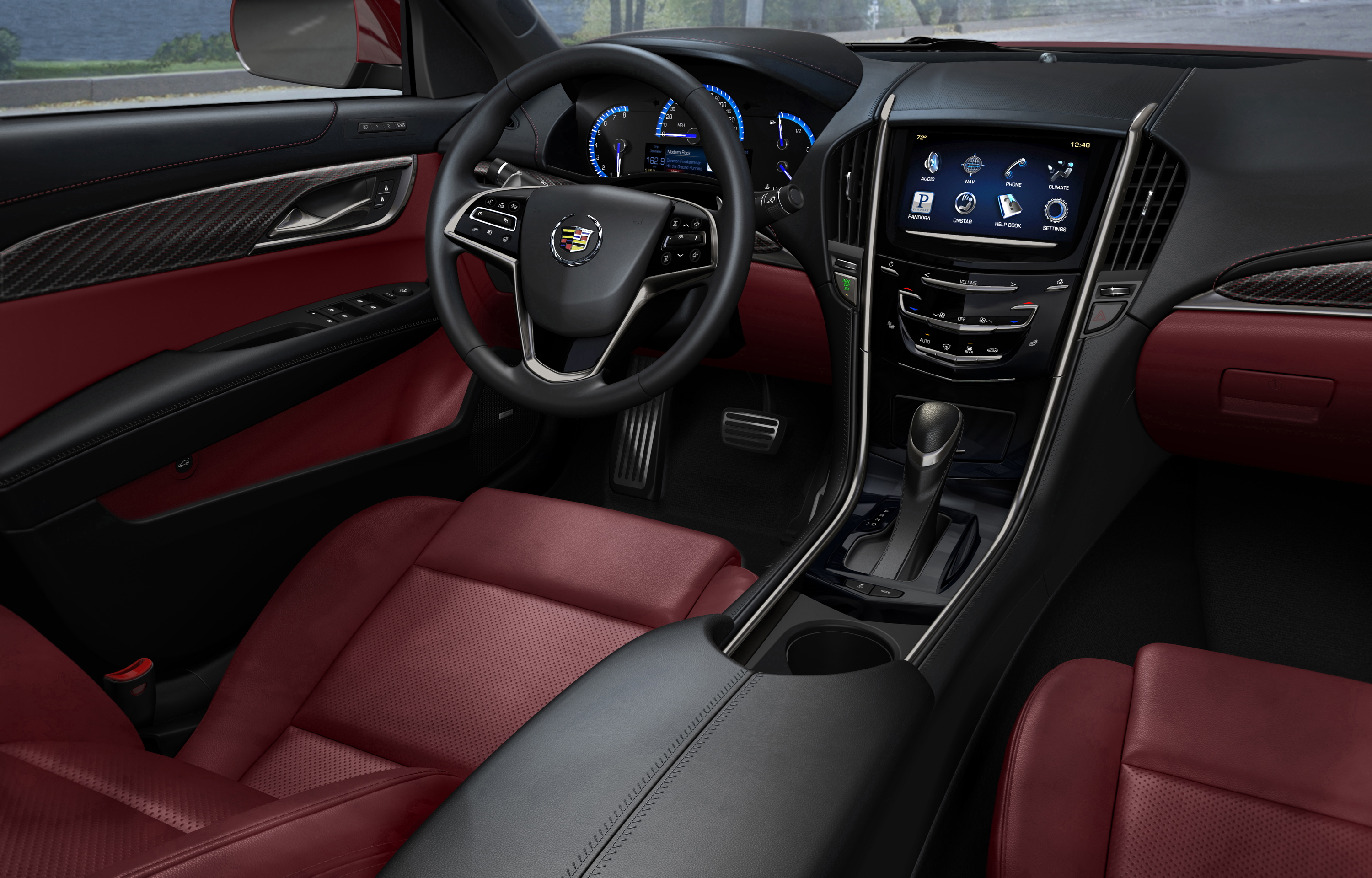 xts up feature photos of info illuminated dark light handles gm spotlight door the authority blog cadillac